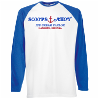SCOOPS AHOY BASEBALL - INSPIRED BY STRANGER THINGS
